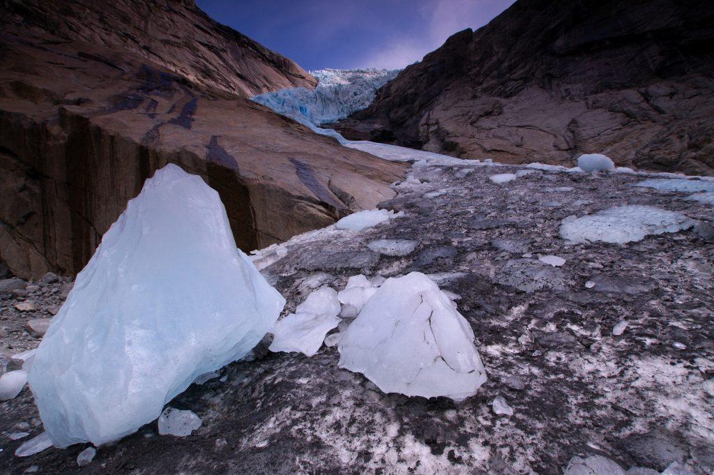 ledovec Jostedalsbreen Norsko