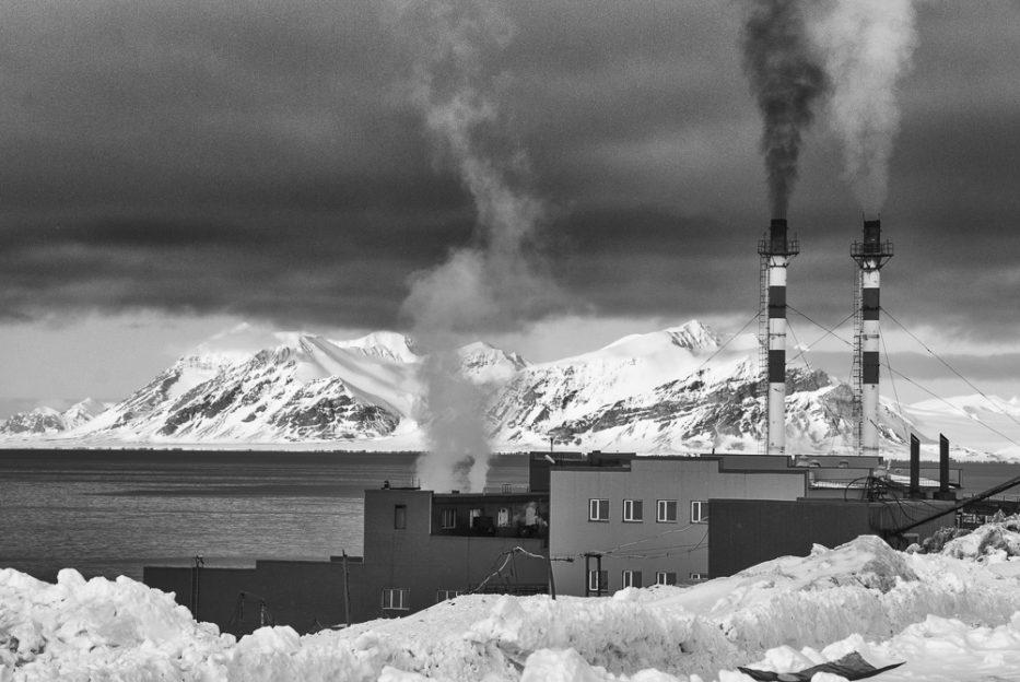 Tepelná elektrátna Barentsburg Špicberky