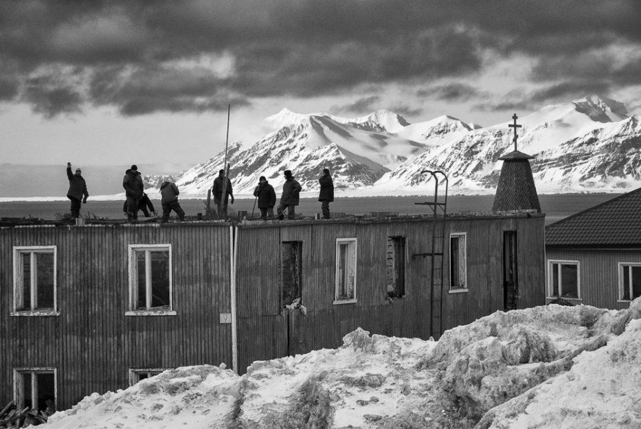 PCB v Barentsburgu na Špicberkách