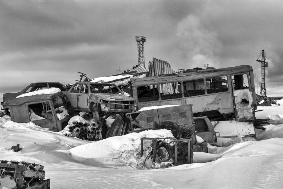 Barentsburg skládka