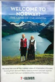 Zajimavosti o Norsku zeme chlamydii