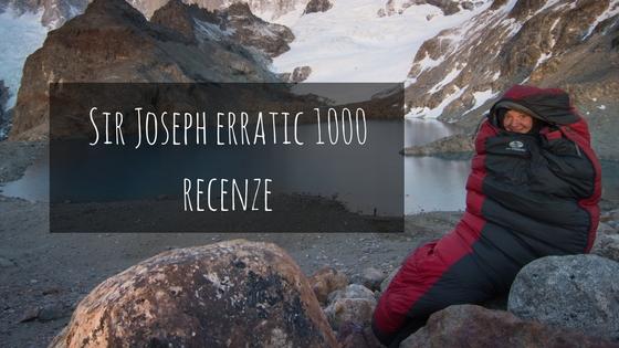 Recenze: Zimní péřový spacák Sir Joseph Erratic 1000