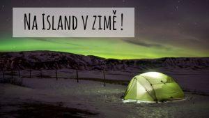 Island v zimě