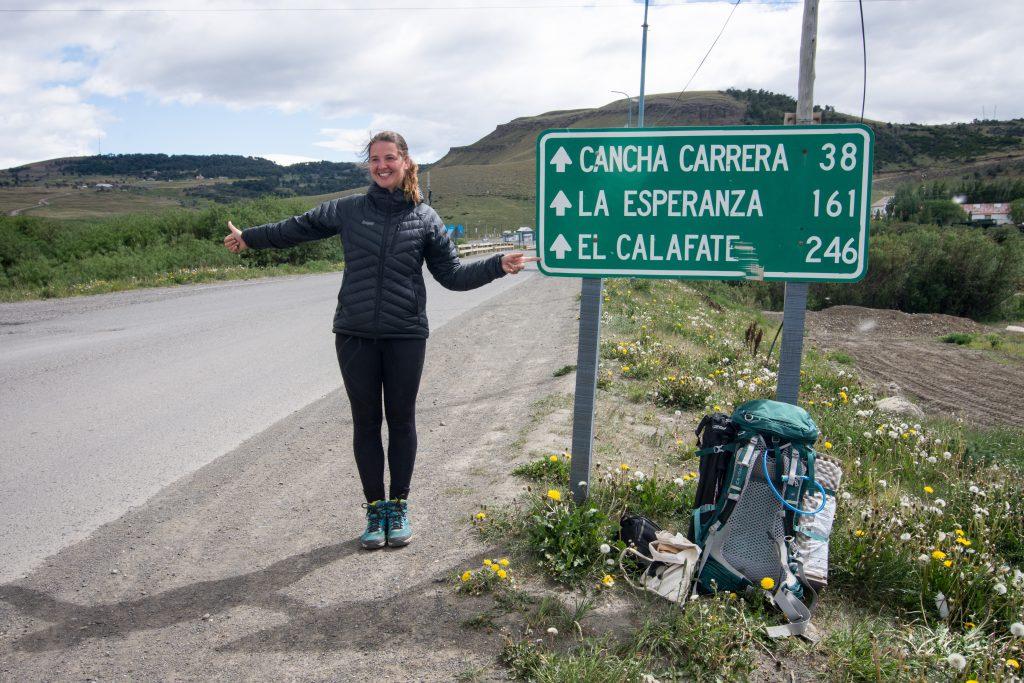Stopování v Patagonii