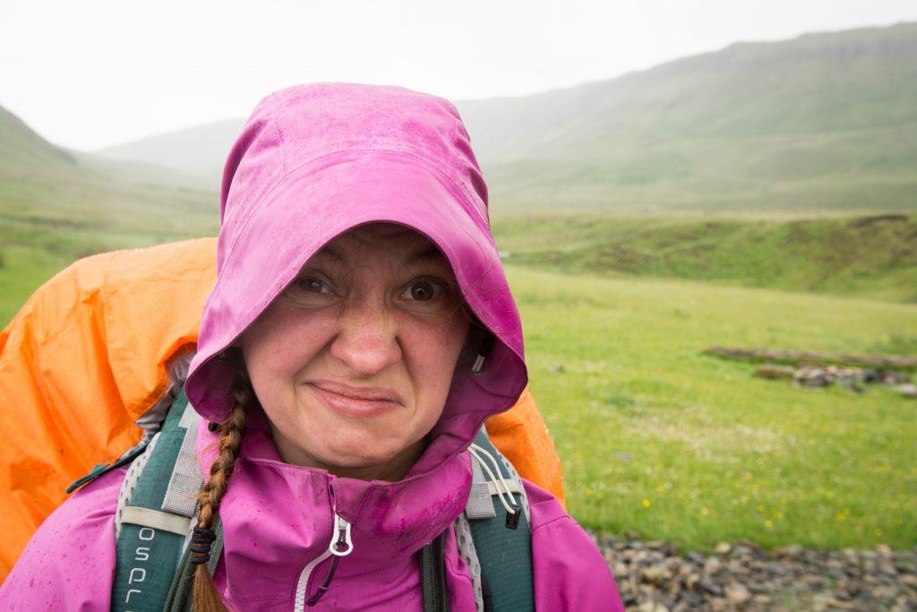 Vybavení na Island: Třetí vrstva nepromokavá bunda