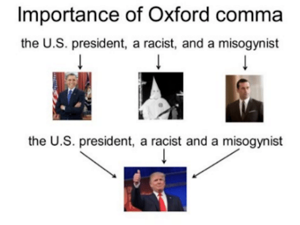 Grammarly oxford comma