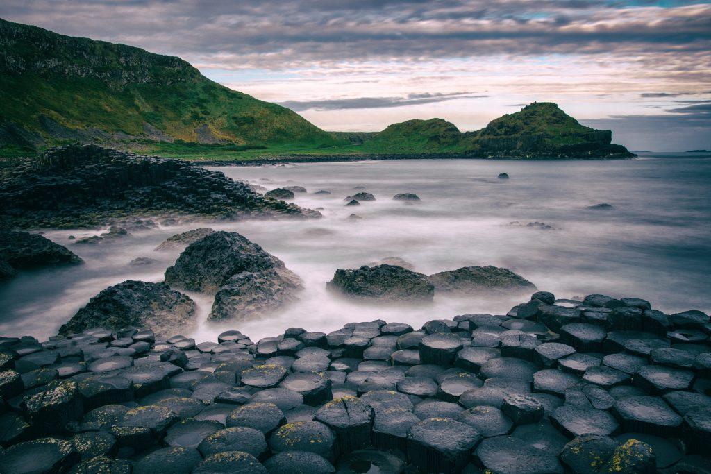 Severní Irsko Obrův Chodník