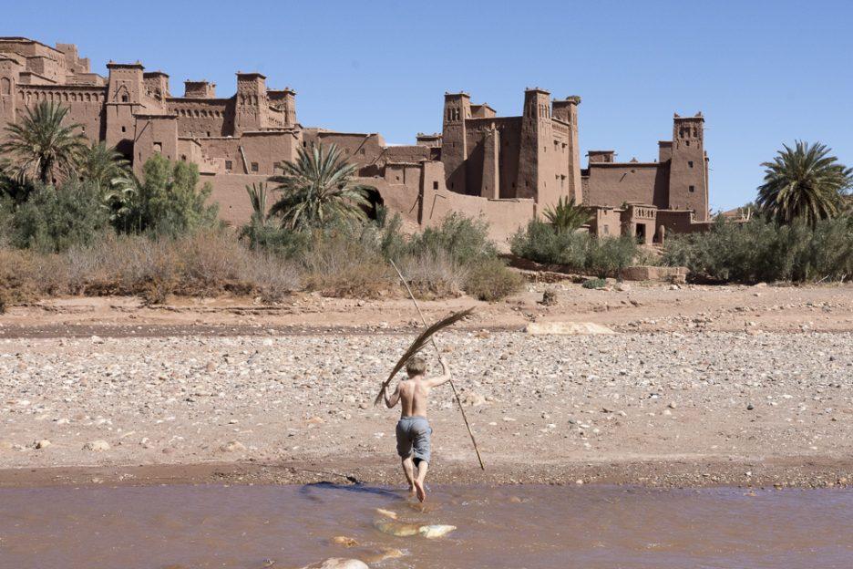 Maroko s dětmi: Ait Ben Haddou