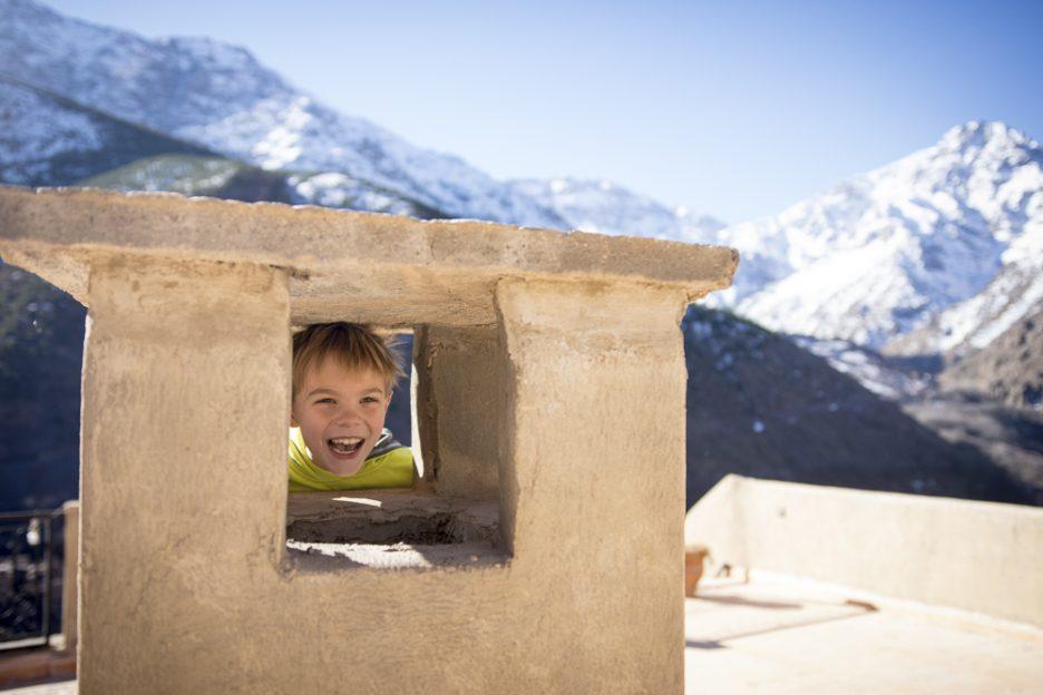 Maroko s dětmi: Imlil