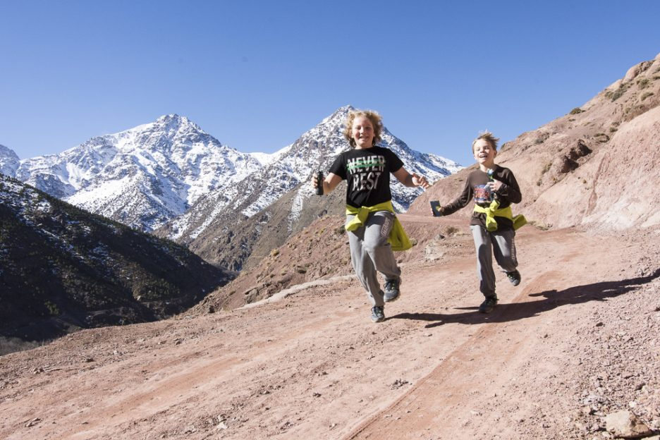 Závody v horách Vysokého Atlasu
