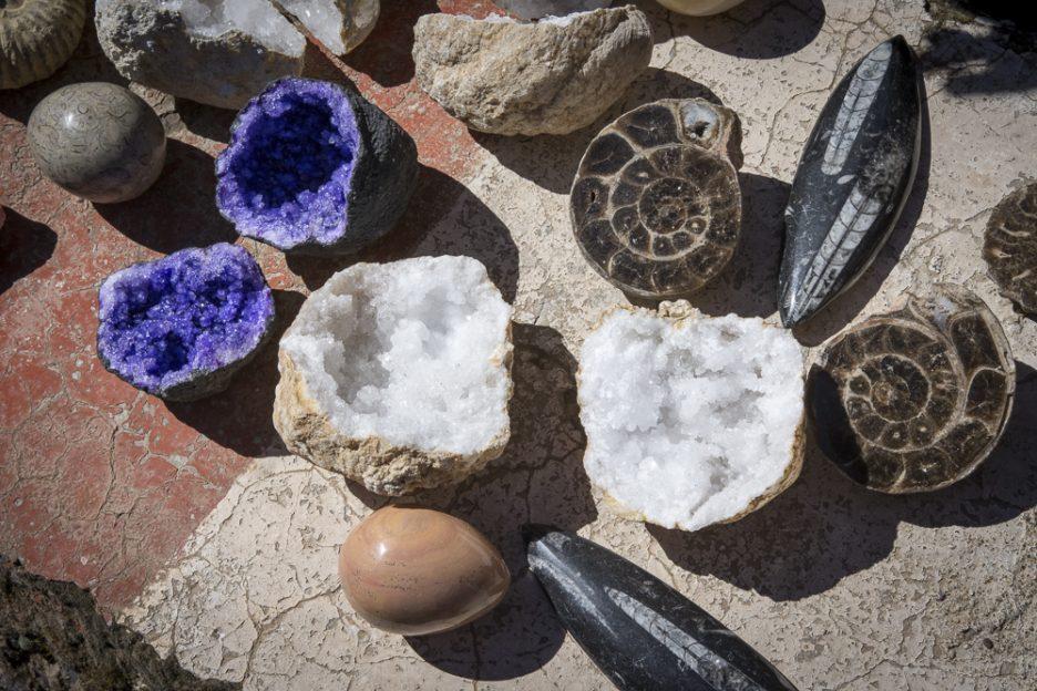 Maroko s dětmi: Prodejci kamenů