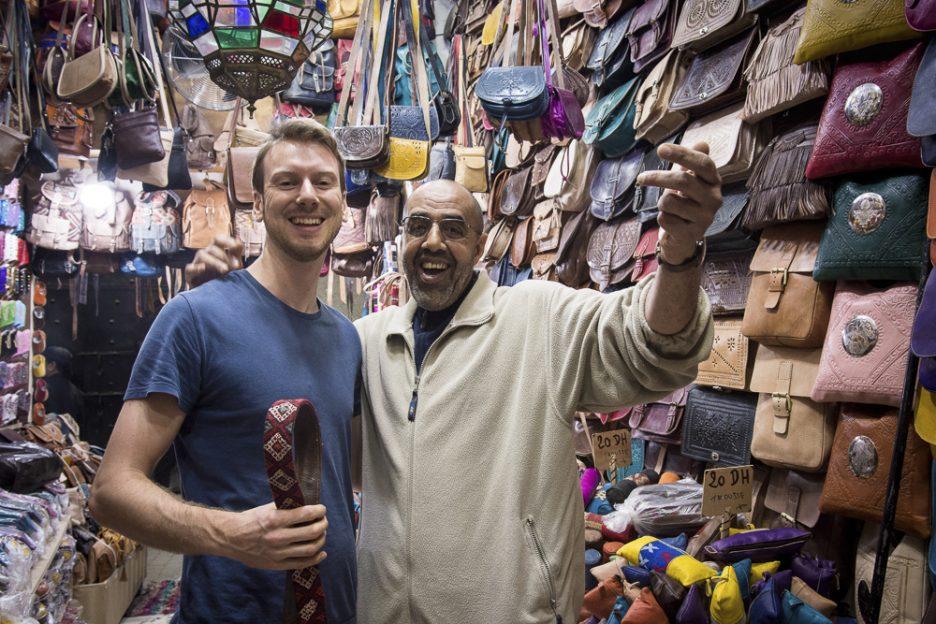 Maroko s dětmi: Marakéš