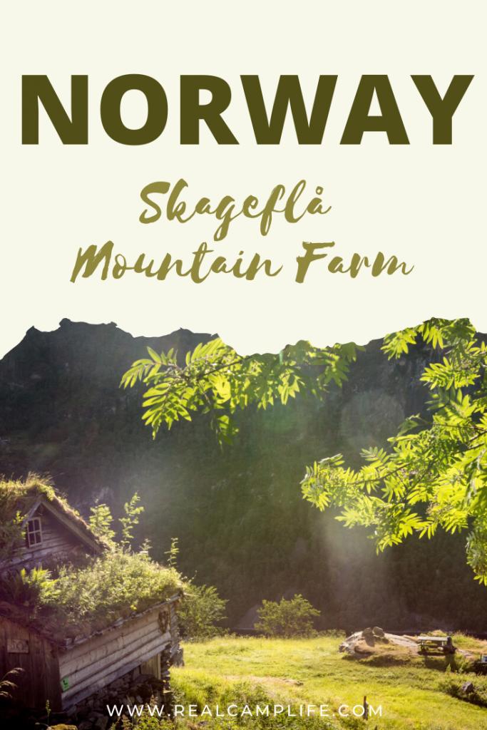 Skageflå Farm in Geiranger - Pinterest