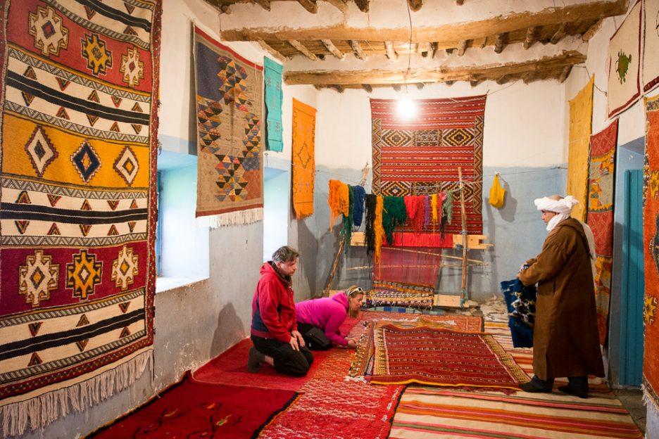 Maroko nákup koberce