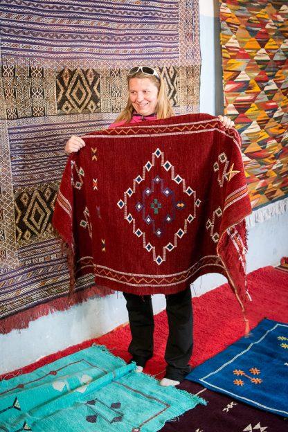 Maroko nákup koberců