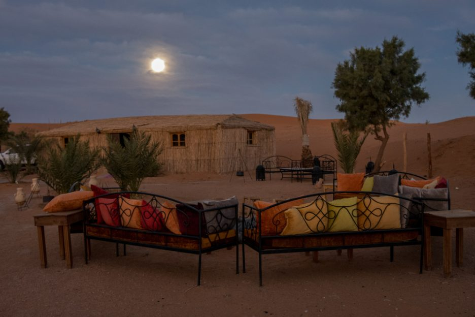 Maroko s dětmi - kemp v poušti
