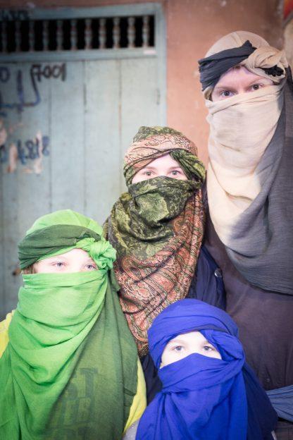 Maroko s dětmi - Marakéš