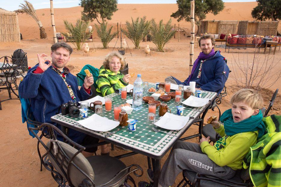 Maroko s dětmi - marocká kuchyně