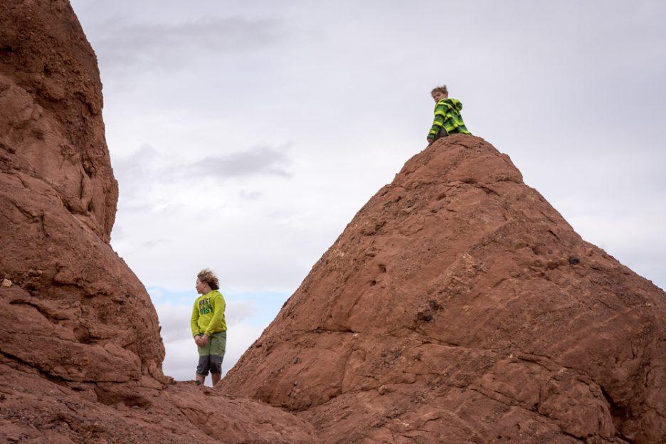 Parkur na skalách u soutěsky Dodres