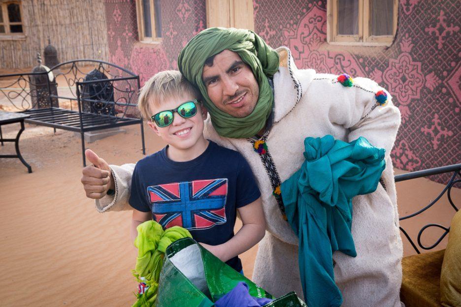 Maroko s dětmi bezpečnost