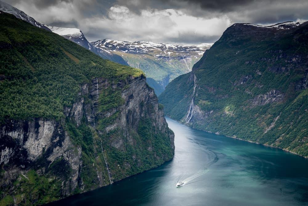 Západní Norsko Geiranger fjord