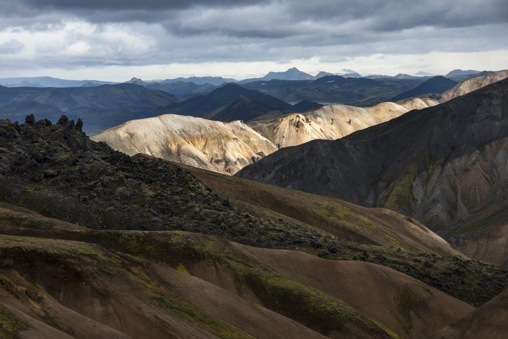 Laugavegur trail na Islandu