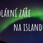 Polární záře na Islandu nadpis