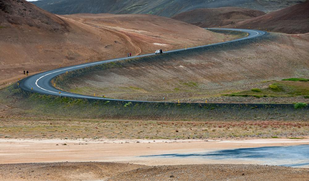 Islandská okružní silnice č.1 neboli Ring road