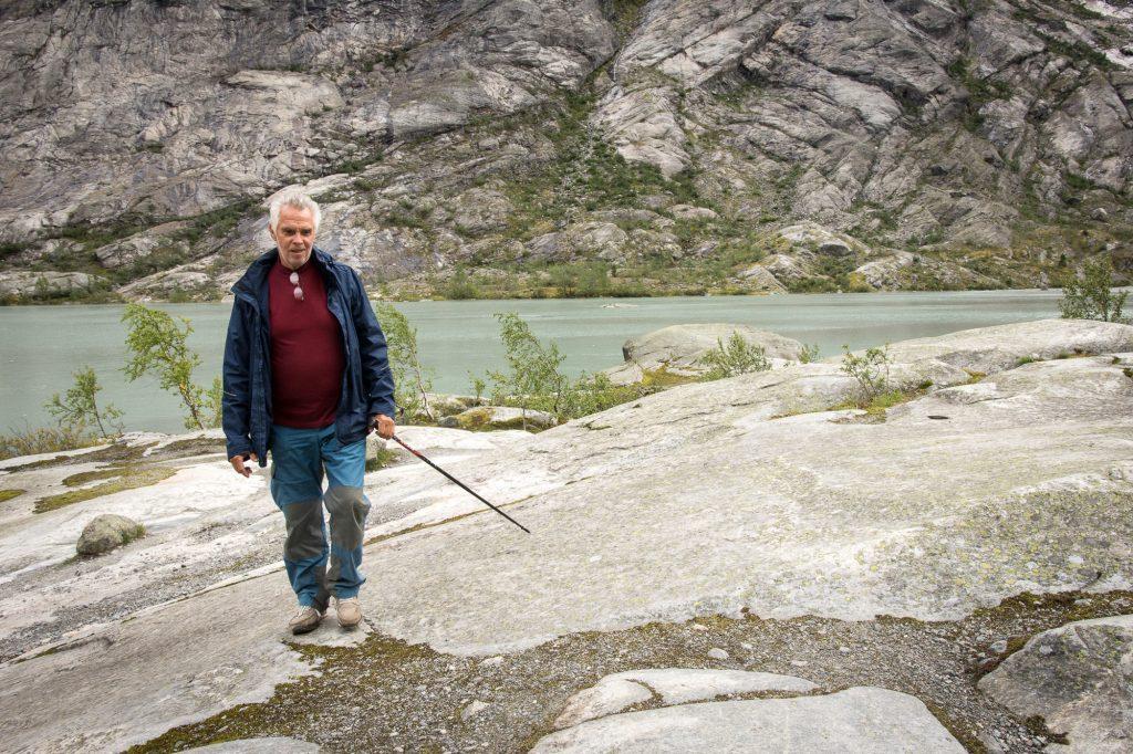 Ledovec Nigradsbreen v národním parku Jostedalsbreen