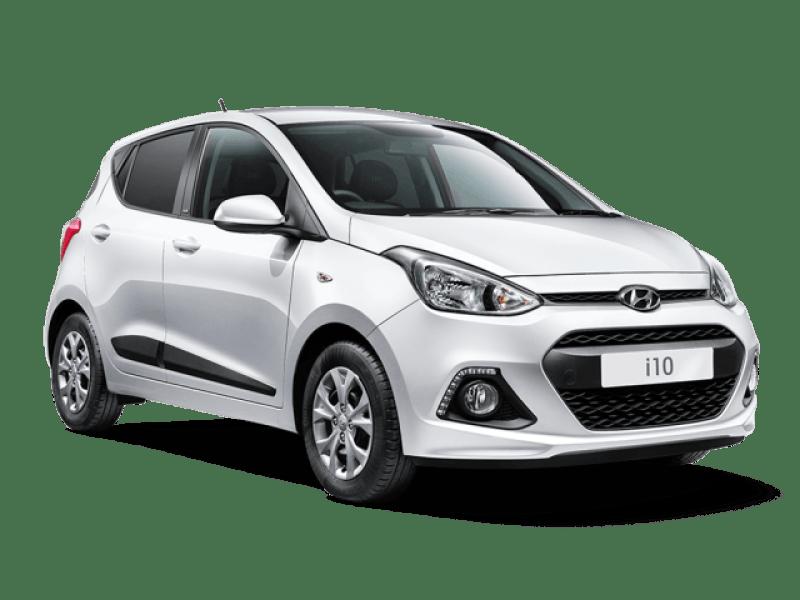 půjčení auta na Islandu Hyundai-i10
