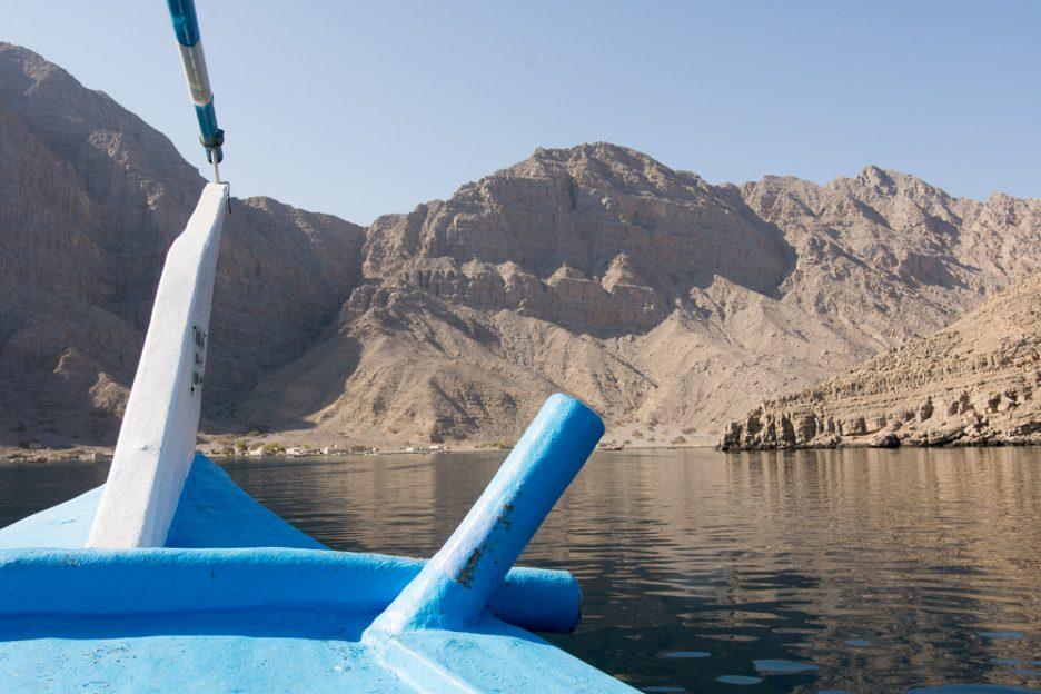 Tradiční lodě Dhow v Musandamu, Omán