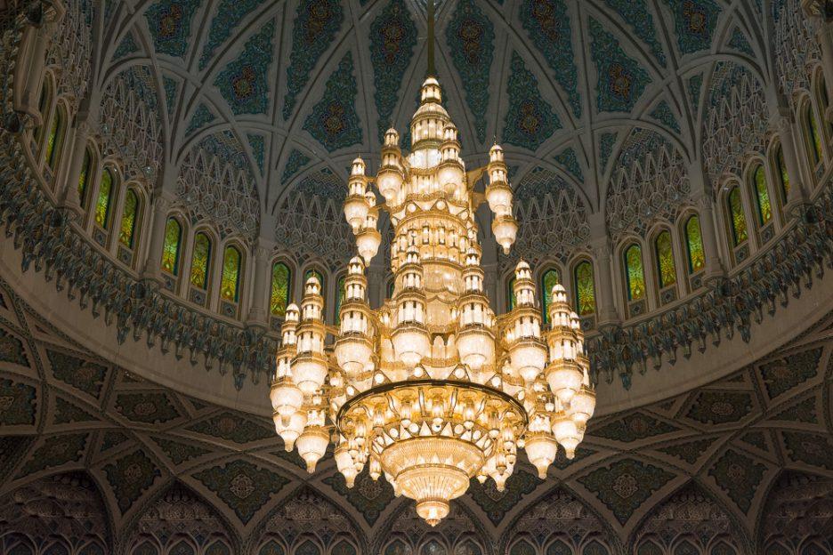 Omán bez cestovky - mešita sultána kábuse