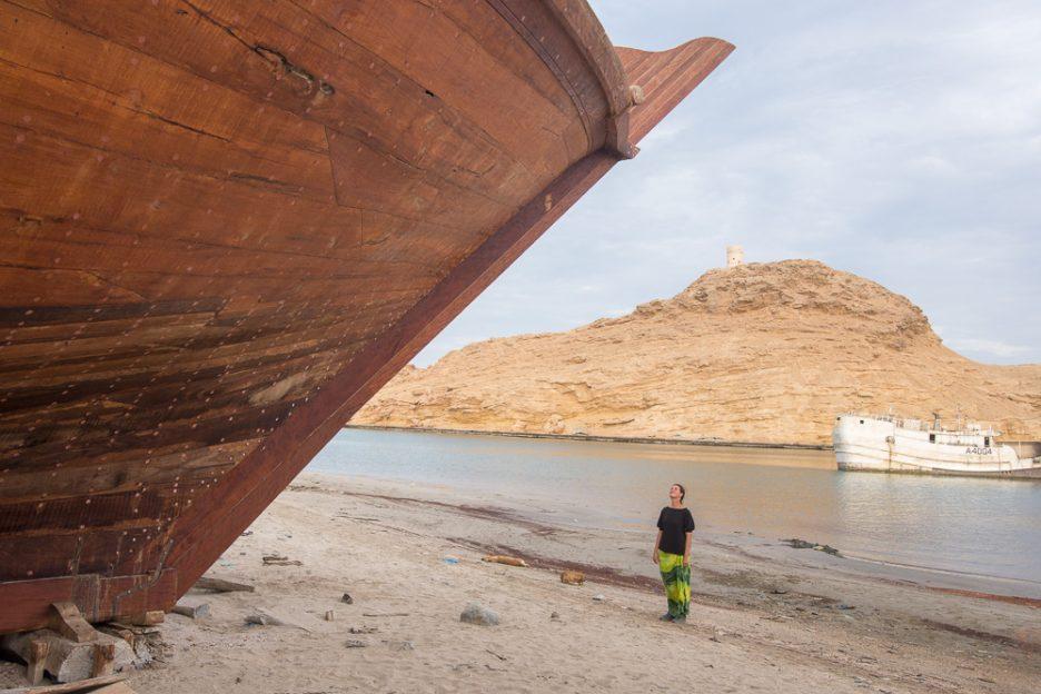 Výroba lodí v Sur, Omán