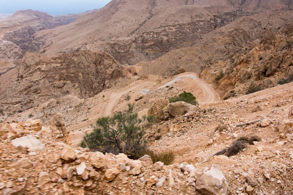Omán horská silnice