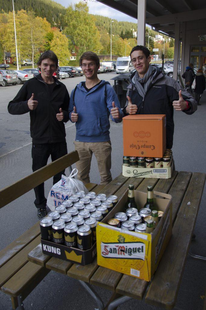 Nákup alkoholu ve Švédsku