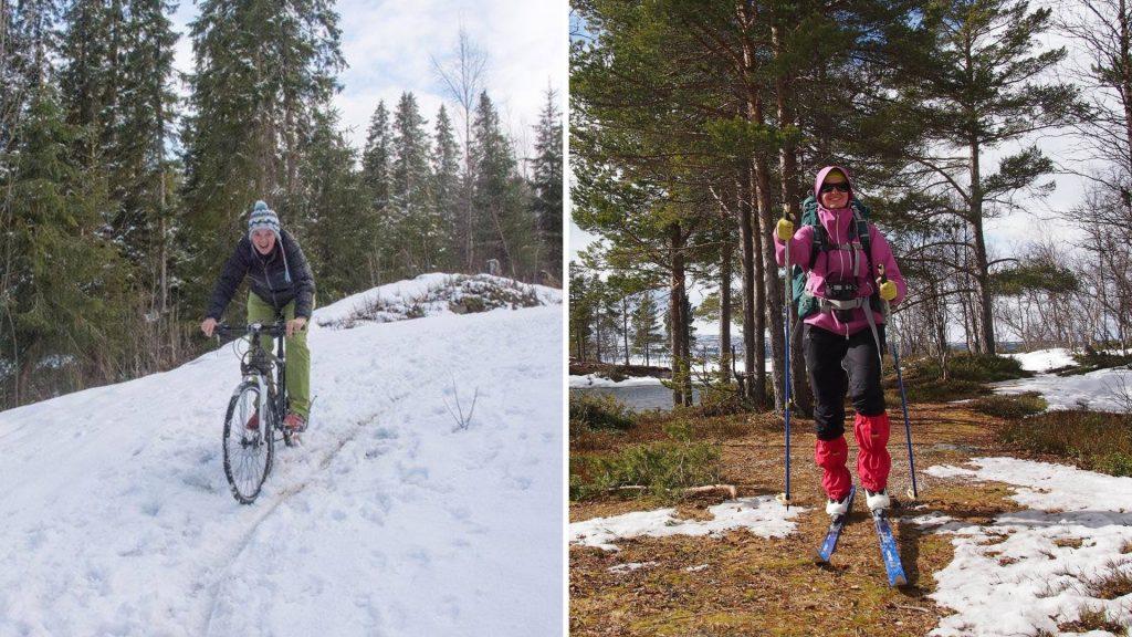 Plánování dovolené do Norska podcenění počasí