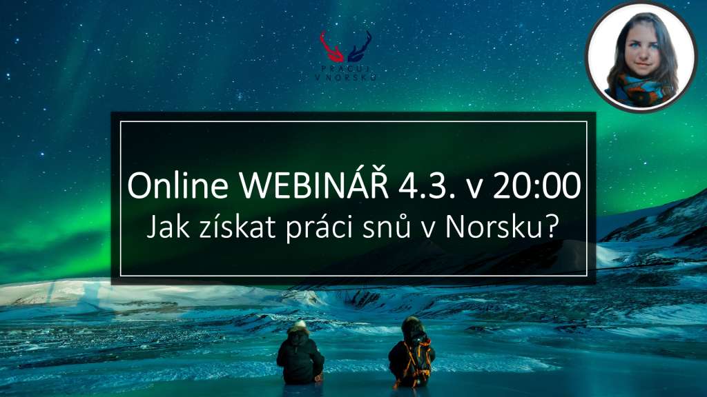 Webinář práce v Norsku