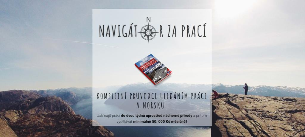 Práce v Norsku navigátor