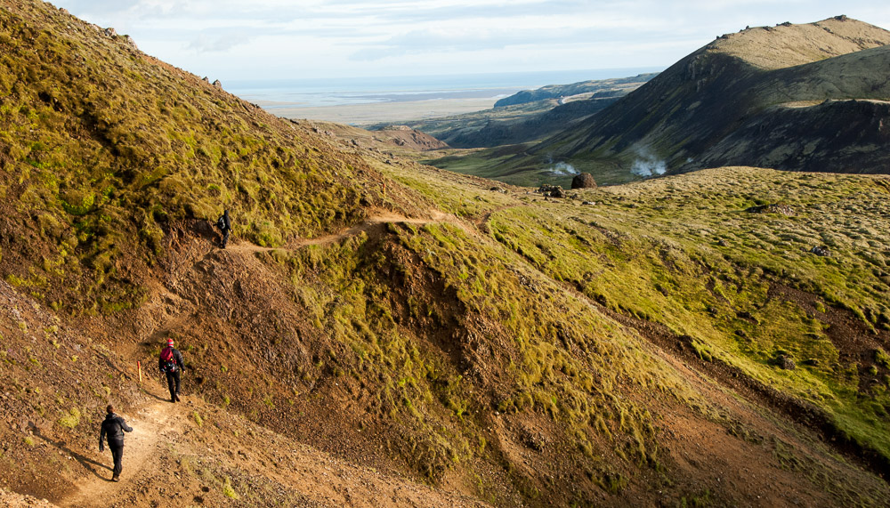 Co navštívit na Islandu jih Islandu - údolí Reykjadalur