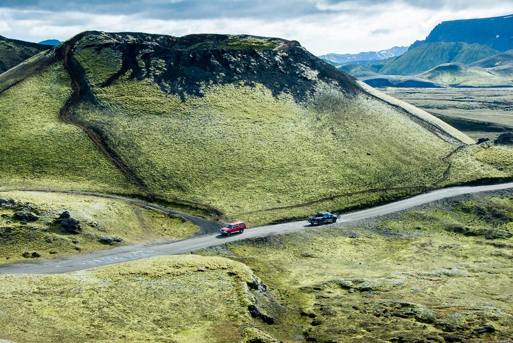 Stopování na Islandu