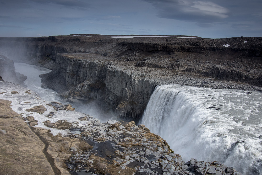 vodopád Dettifoss na Islandu