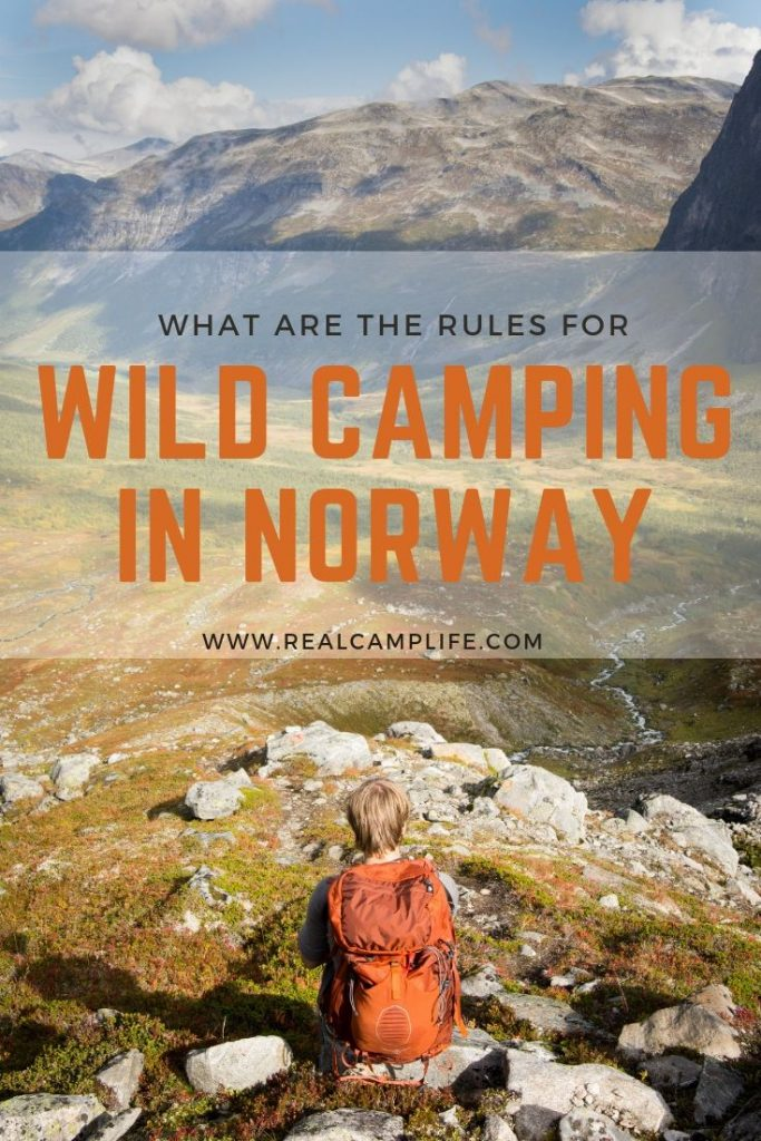 Wild camping and sleeping in a car in Norway