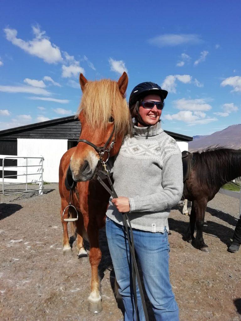 Koně na Islandu_projížďka ve Varmahlidu na severu Islandu