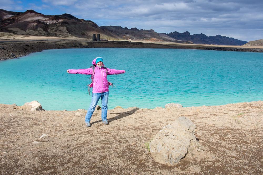 Islandský cestopis 2019, geotermální oblast Krýsuvík