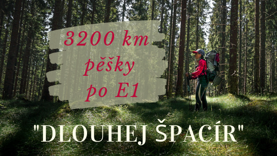 Dlouhej špacír: 3000 km pěšky skrze Skandinávii po dálkové trase E1