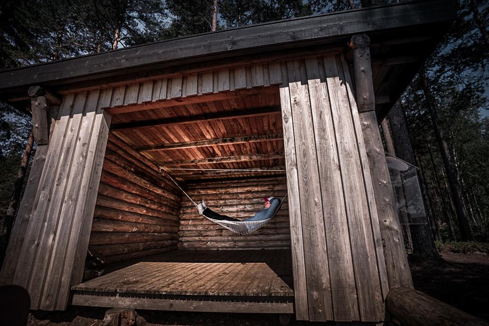 Dlouhej špacír - volně přístupné přístřešky ve Švédsku