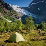 Pravidla pro spaní v autě a kempování v Norsku