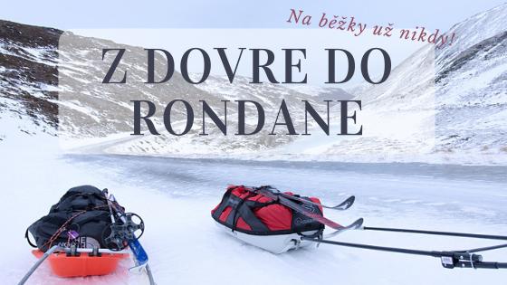 Zimní Tour de Dovre: Nejtěžší lyžařská túra v mém životě