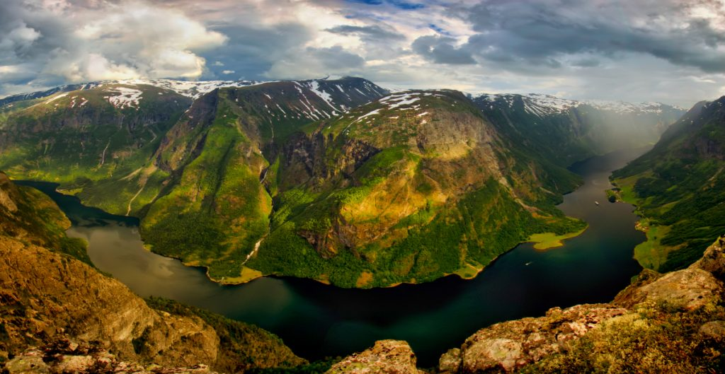 Nejkrásnější norské fjordy: Naeroyfjord