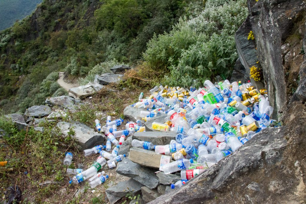 Sbírání odpadků v Číně